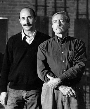 with Edward Albee